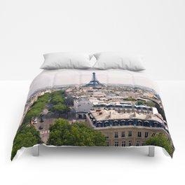 Eiffel Tower Comforters