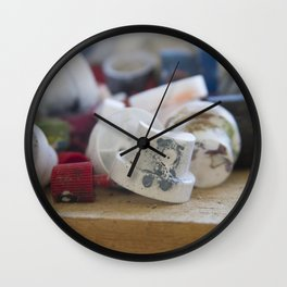 Spray Paint Graffiti Can Nozzle Wall Clock