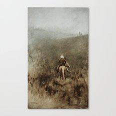 Lonely Cowboy Canvas Print