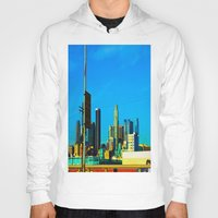 cityscape Hoodies featuring Cityscape by Life Of A Lens Studios