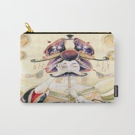 Mustachioed Oiran  Carry-All Pouch
