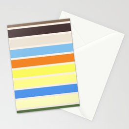 The colors of - to to ro Stationery Cards