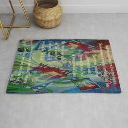 And Now I'll Look Away Rug