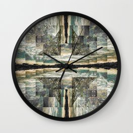 Lichens Wall Clock