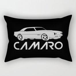 Chevrolet Camaro SS - silver - Rectangular Pillow