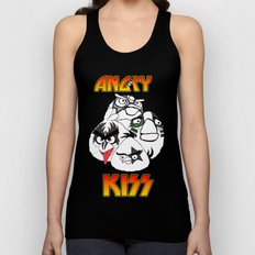 Angry Kiss Unisex Tank Top