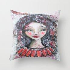 Spirit Wanderer, Spiritual Wanderer Throw Pillow