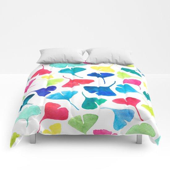 Peppy Ginkgo Comforters