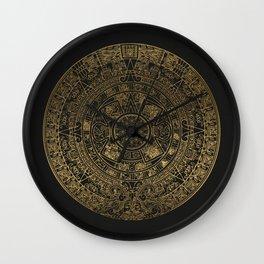 The Mayan Realization Wall Clock