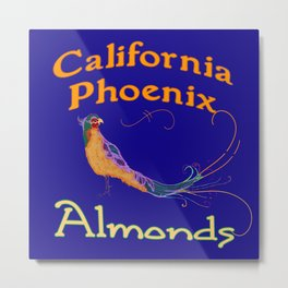 California Phoenix Almonds Metal Print