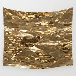 Gold Metal Wall Tapestry
