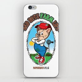 NOTORIOUS P.I.G iPhone Skin