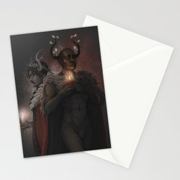 Winter Kings Stationery Cards