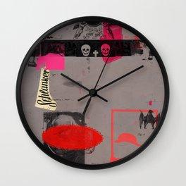 Weg mit dem Kapital III Wall Clock