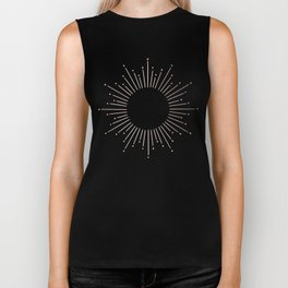 Moon Dust Rose Gold Biker Tank