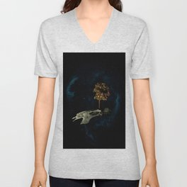 The Sixth Sanctuary in Space Unisex V-Neck