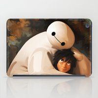 baymax iPad Cases featuring Baymax Love by Kesen