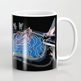 Pastel Pink Death of a Bachelor Coffee Mug