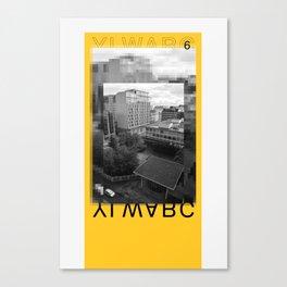 Yellow City 06 Canvas Print