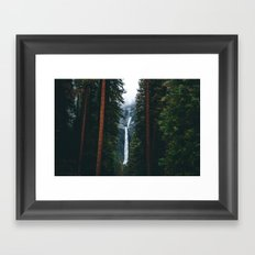 Yosemite Falls - Yosemite National Park, California Framed Art Print