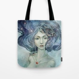 Zodiac Cancer Tote Bag