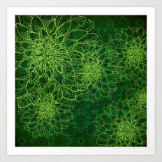 The Green Manalishi Art Print