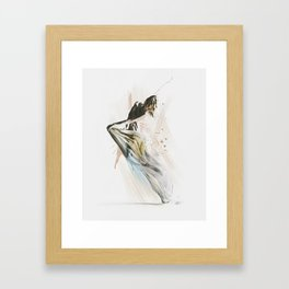 Drift Contemporary Dance Framed Art Print