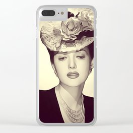 Martha Vickers Clear iPhone Case