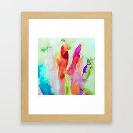 Abstract Blurs Framed Art Print