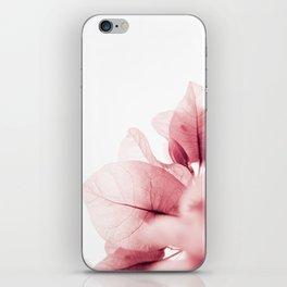 Flowers flash iPhone Skin