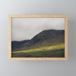 Light Path Framed Mini Art Print