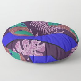 Summer-Socks & Style Inverted 2nd Edition Floor Pillow
