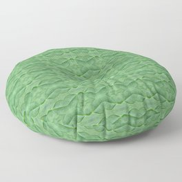 60s Decor Inspired Baby Spinach Floor Pillow