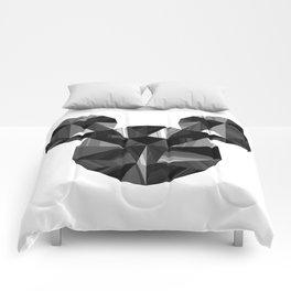 Black Pop Crystal Comforters