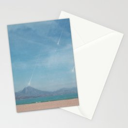 Beach of Perseids Stationery Cards