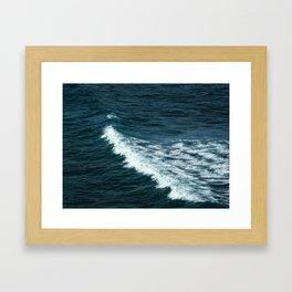 The Blue I Framed Art Print