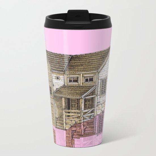 house defromation Metal Travel Mug