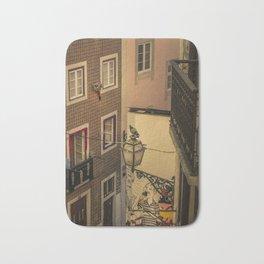Alfama, Lisbon III (Color) Bath Mat