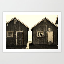 Authorized Personell Only Art Print
