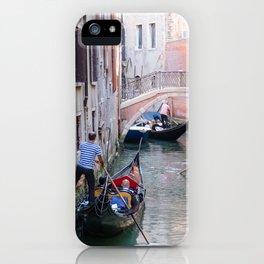 Exploring Venice by Gondola iPhone Case