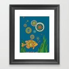 GO FISH Framed Art Print