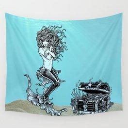 Sea Treasures ll Wall Tapestry