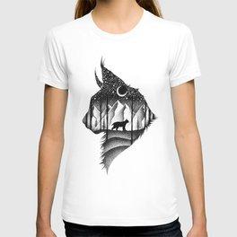 THE LYNX & THE MOON T-shirt
