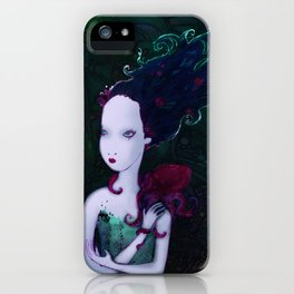 Mermaid & Mr Bubbles iPhone Case