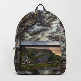 Poolewe at dawn Backpack