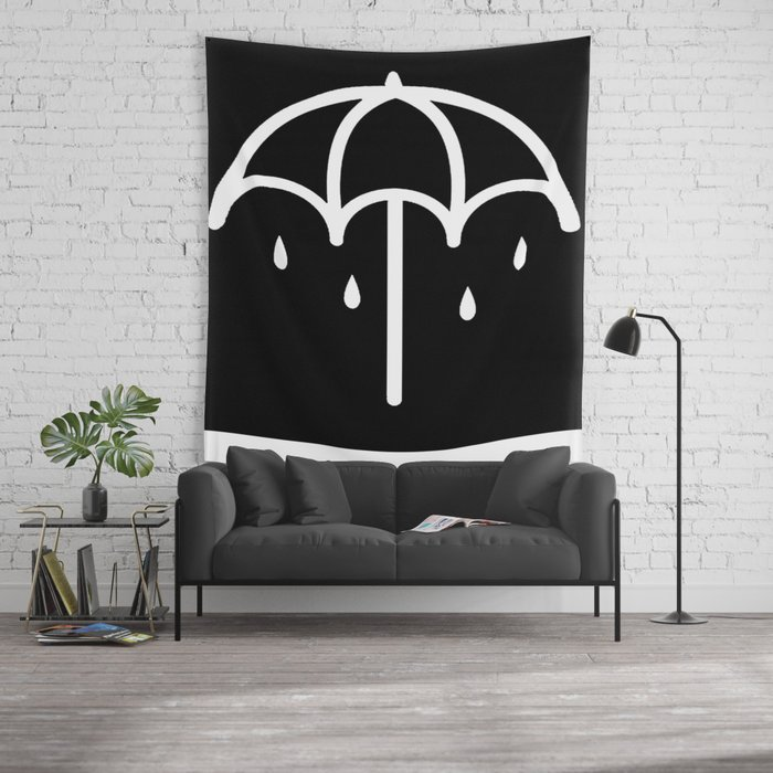 BMTH Umbrella Wall Tapestry By Aria4