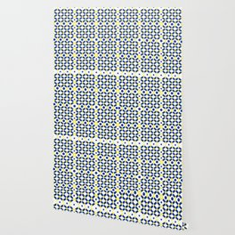 Moroccan Inspired Tile Pattern Wallpaper