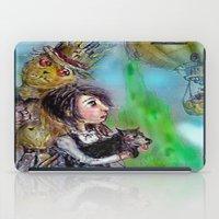 oz iPad Cases featuring  oz by AliluLera