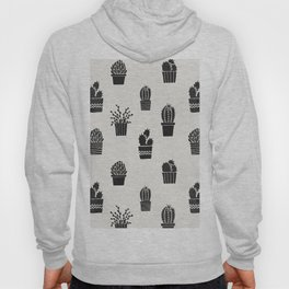 Southwestern Stamped Potted Cactus + Succulents Hoody