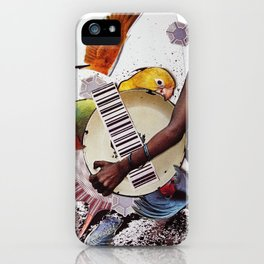 Birds of a feather   Collage iPhone Case